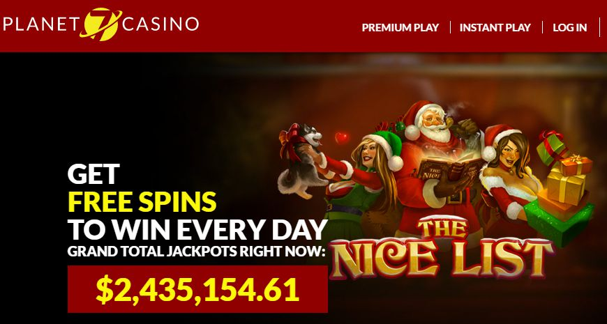 Planet 7 Casino Get 135 Bonus 400 Sign Up And 55 Spins