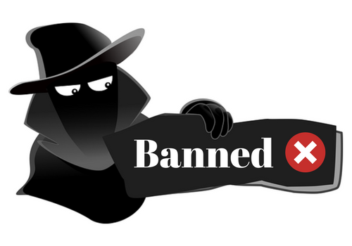 ways to get banned from casino