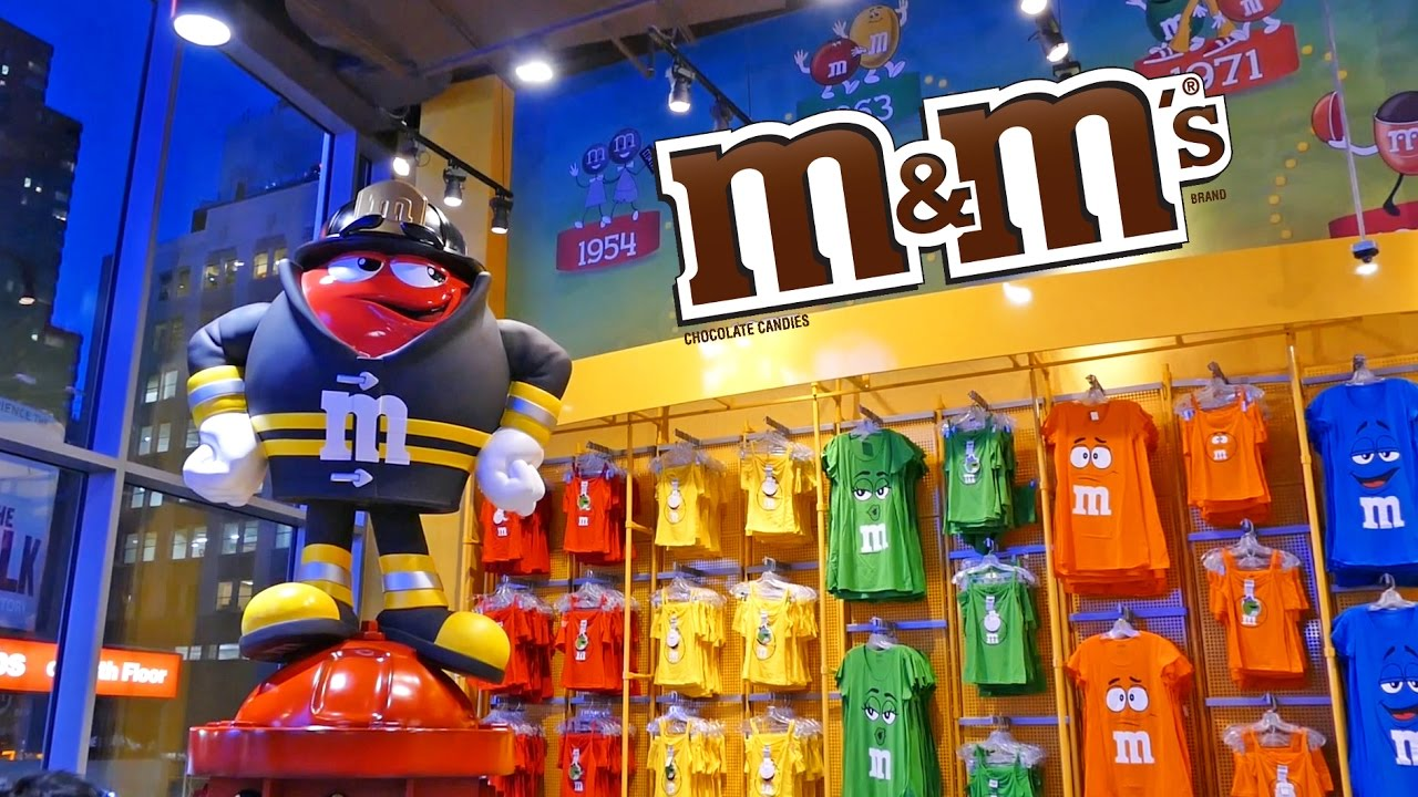 M&M world las vegas attractions